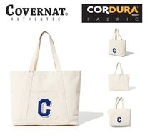 COVERNAT Casual Style Unisex Canvas A4 Totes