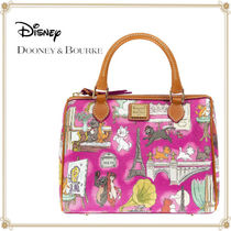 Disney Casual Style Collaboration 2WAY Leather Satchels