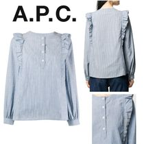 A.P.C. Casual Style Elegant Style Shirts & Blouses