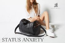 STATUS ANXIETY Leather Boston & Duffles