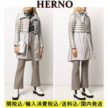 HERNO Nylon Long Down Jackets
