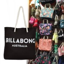 Billabong Casual Style Unisex Canvas Totes