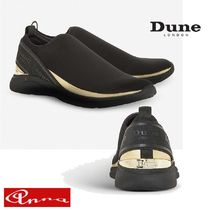Dune LONDON Round Toe Casual Style Street Style Plain Low-Top Sneakers