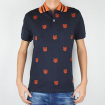 GUCCI Street Style Short Sleeves Polos