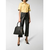 TOM FORD Plain Leather Totes