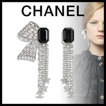 CHANEL Costume Jewelry Star Blended Fabrics Party Style With Jewels