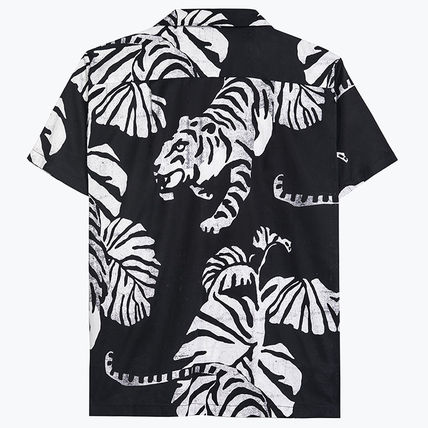Leopard Patterns Tropical Patterns Unisex Plain Cotton