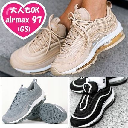 Nike AIR MAX 97 Unisex Street Style Kids Girl Sneakers