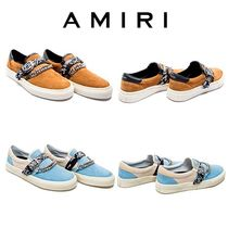 AMIRI Suede Street Style Leather Loafers & Slip-ons