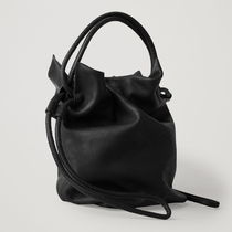 COS Casual Style Plain Leather Party Style Purses Office Style