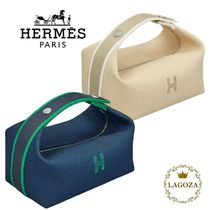 HERMES Unisex Pouches & Cosmetic Bags