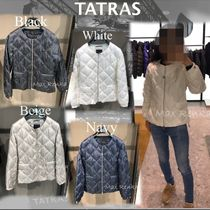 TATRAS Short Star Plain Down Jackets