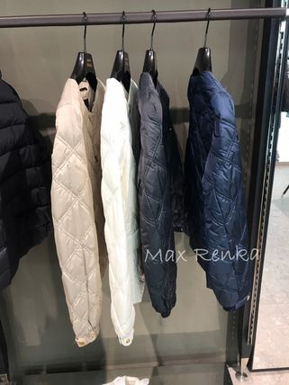 Short Star Plain Down Jackets