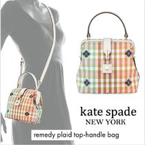 kate spade new york Flower Patterns Casual Style Nylon 2WAY Elegant Style