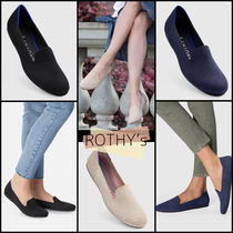 ROTHY'S Round Toe Casual Style Plain Party Style Office Style