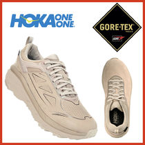 HOKA ONE ONE Unisex Street Style Plain Leather Halloween Sneakers