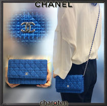 CHANEL CHAIN WALLET Chain Plain Chain Wallet Bridal Accessories