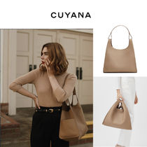 CUYANA Casual Style 3WAY Leather Office Style Shoulder Bags