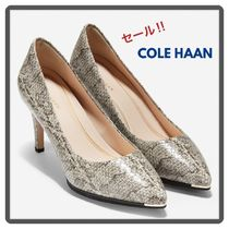 Cole Haan Casual Style Leather Office Style Python Elegant Style