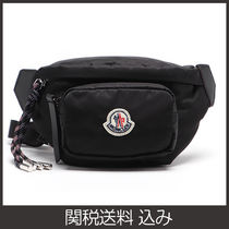 MONCLER Nylon 2WAY Plain Hip Packs