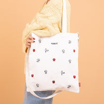 SHOOPEN Unisex Street Style Collaboration A4 2WAY Shoulder Bags