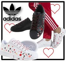 adidas Heart Casual Style Unisex Street Style Low-Top Sneakers