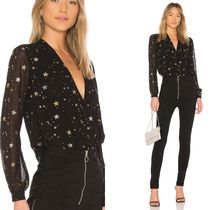 Lovers&Friends Star Casual Style Long Sleeves Elegant Style