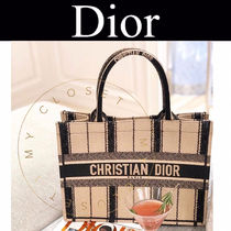 Christian Dior Stripes Casual Style Street Style 2WAY Handmade