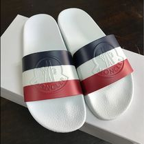 MONCLER Shower Shoes Logo Shower Sandals