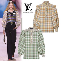 Louis Vuitton Glen Patterns Tartan Other Check Patterns Casual Style