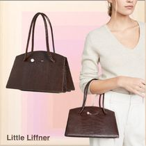 LITTLE LIFFNER Casual Style Calfskin Plain Party Style Office Style