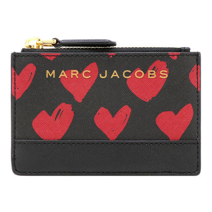 MARC JACOBS Heart Leather Card Holders