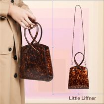 LITTLE LIFFNER Casual Style Calfskin 2WAY Party Style Office Style