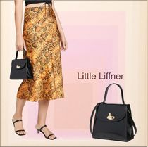 LITTLE LIFFNER Casual Style Calfskin 2WAY Plain Party Style Office Style