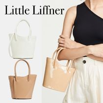 LITTLE LIFFNER Casual Style 2WAY Plain Leather Party Style Office Style