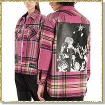 We11Done Other Check Patterns Unisex Wool Long Sleeves
