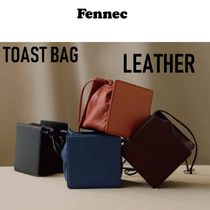 Fennec Casual Style Plain Leather Party Style Office Style