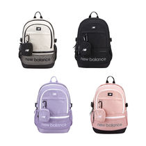 New Balance Unisex Street Style Plain Backpacks