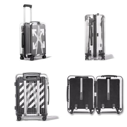 Unisex Street Style Collaboration Luggage & Travel Bags