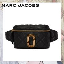MARC JACOBS Softshot Casual Style 2WAY Leather Party Style Hip Packs