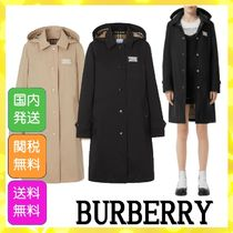 Burberry Casual Style Office Style Elegant Style Trench Coats