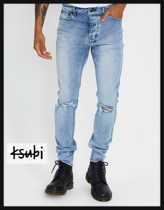 KSUBI More Jeans Tapered Pants Denim Street Style Plain Jeans