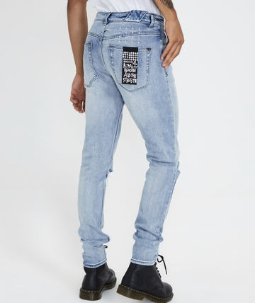 KSUBI More Jeans Tapered Pants Denim Street Style Plain Jeans 3