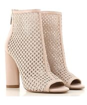 Kendall + Kylie Leather High Heel Boots