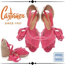 Castaner Round Toe Rubber Sole Casual Style Plain