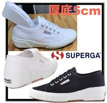 SUPERGA Casual Style Street Style Low-Top Sneakers