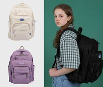 ncover Unisex Plain Backpacks