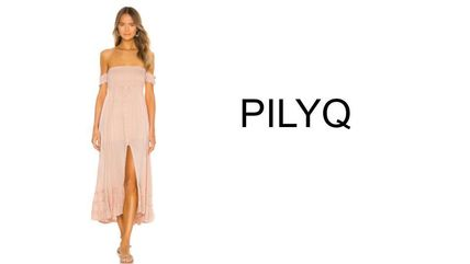Casual Style Tight Maxi Flared Long Elegant Style Dresses