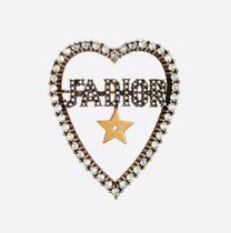Christian Dior JADIOR Star Casual Style Party Style Elegant Style Accessories