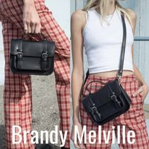 Brandy Melville Casual Style Street Style 2WAY Plain Shoulder Bags